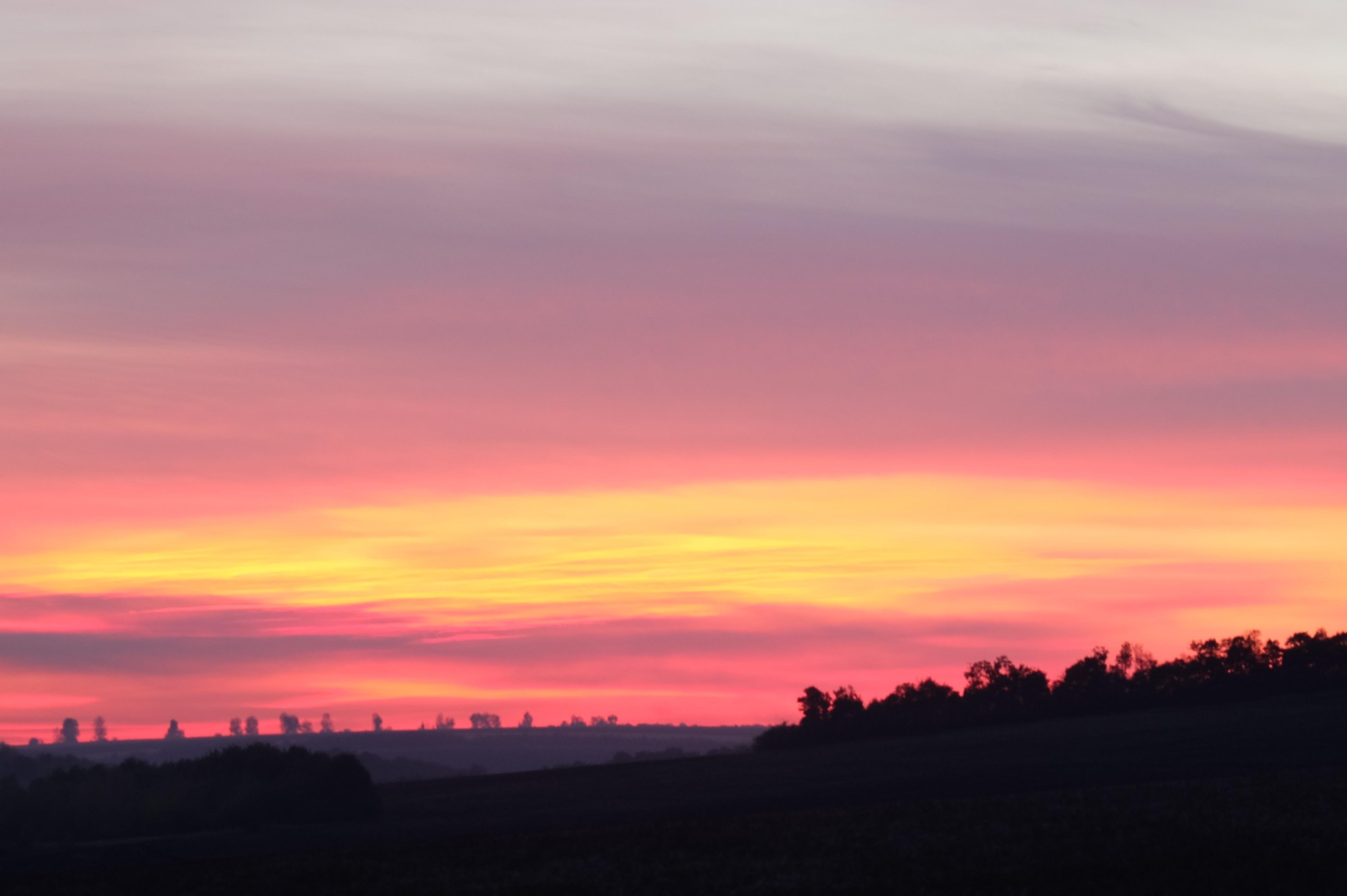 Обои Облака, необыкновенно, Пейзаж, яркие тона. Природа foto 7