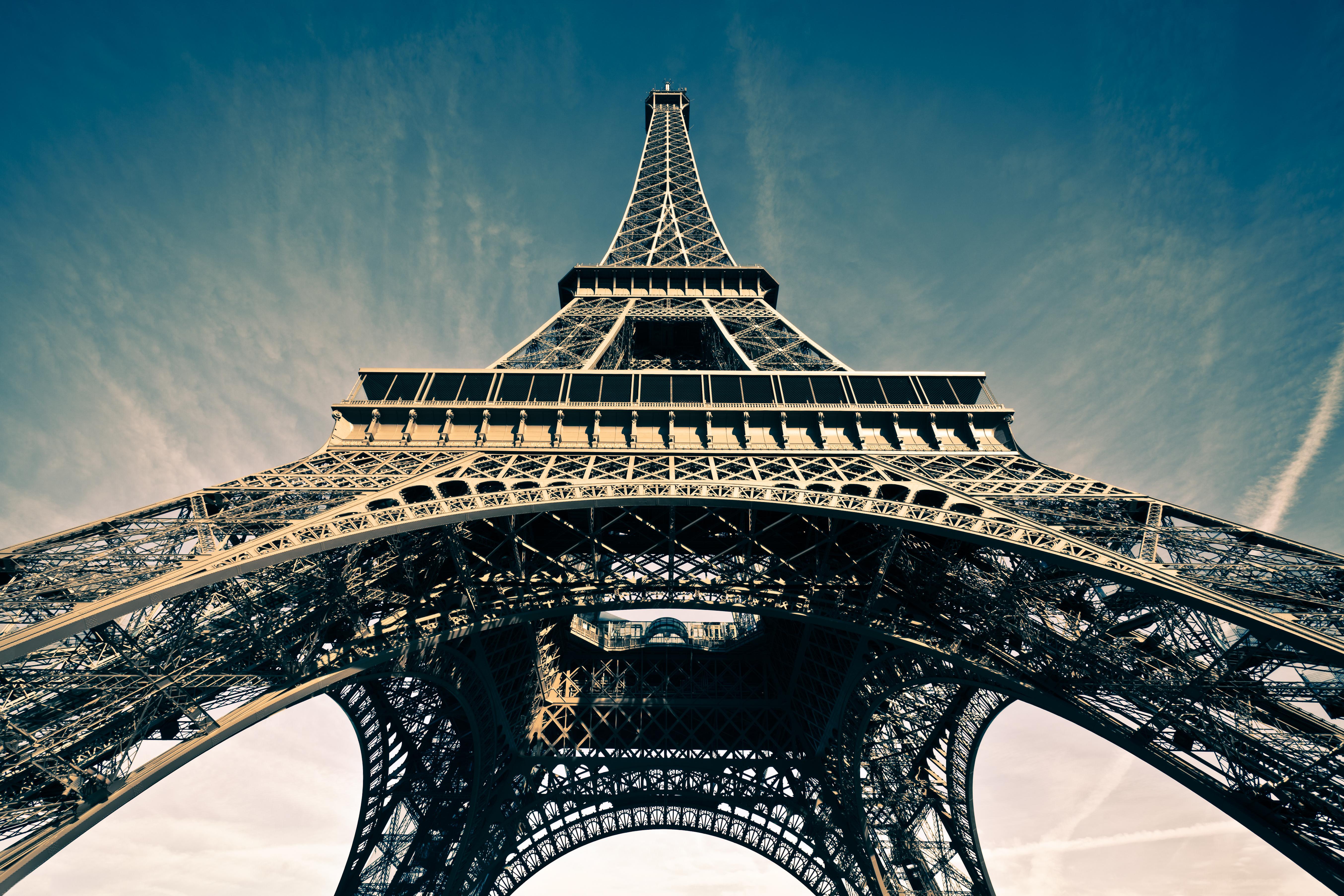 Обои france, paris, la tour eiffel, Эйфелева башня. Города foto 12