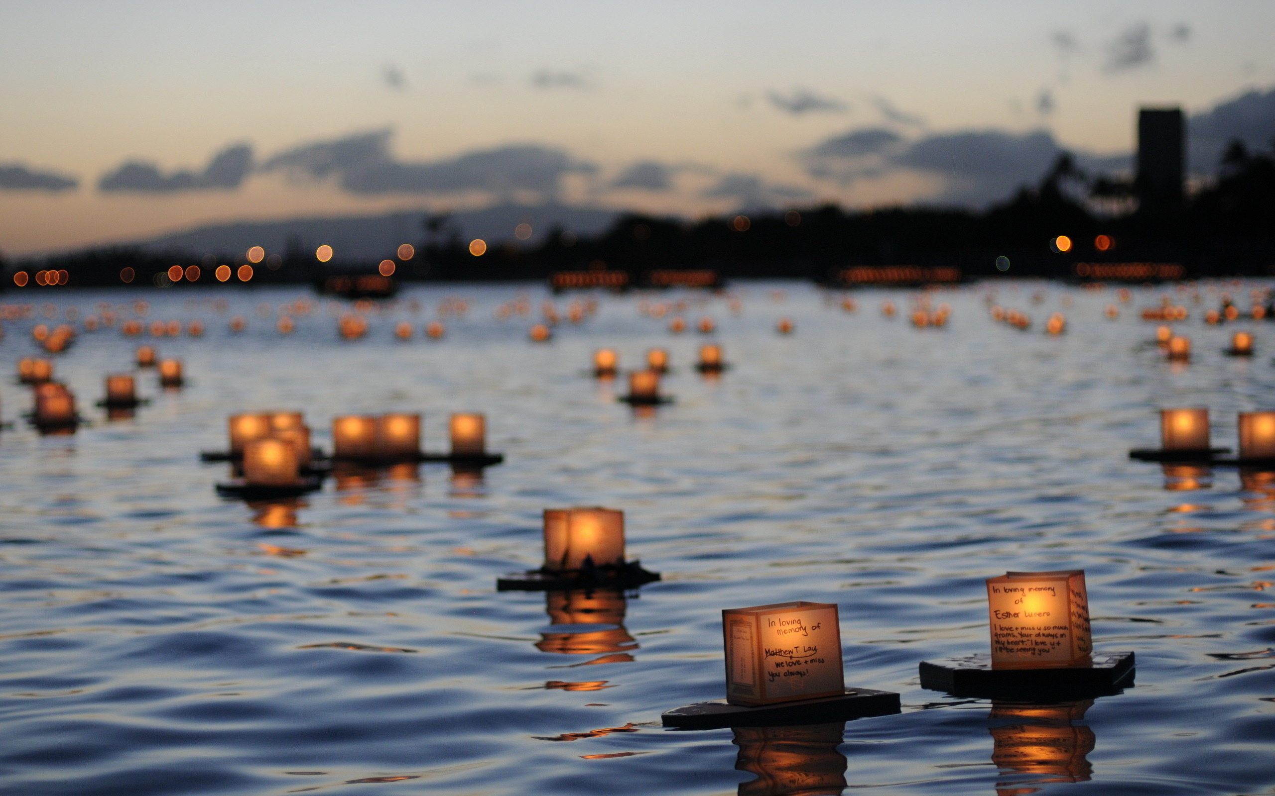 Wallpaper Beautiful Pictures Photo Picture River Memory Candles