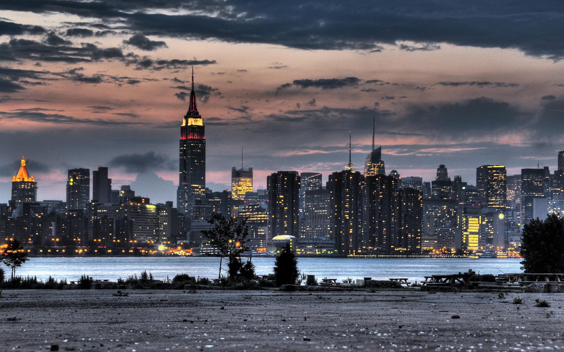 Обои ночные города, архитектура, парки, города.замки. Города foto 14