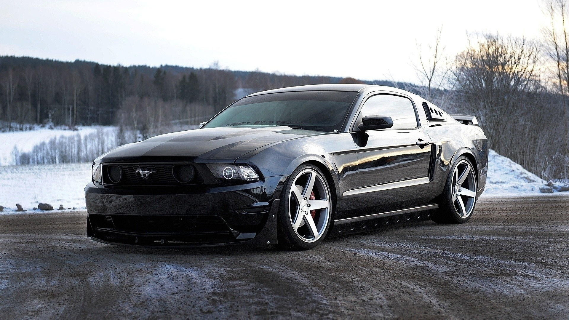 Обои красава, форд, тюнинг. Автомобили foto 7