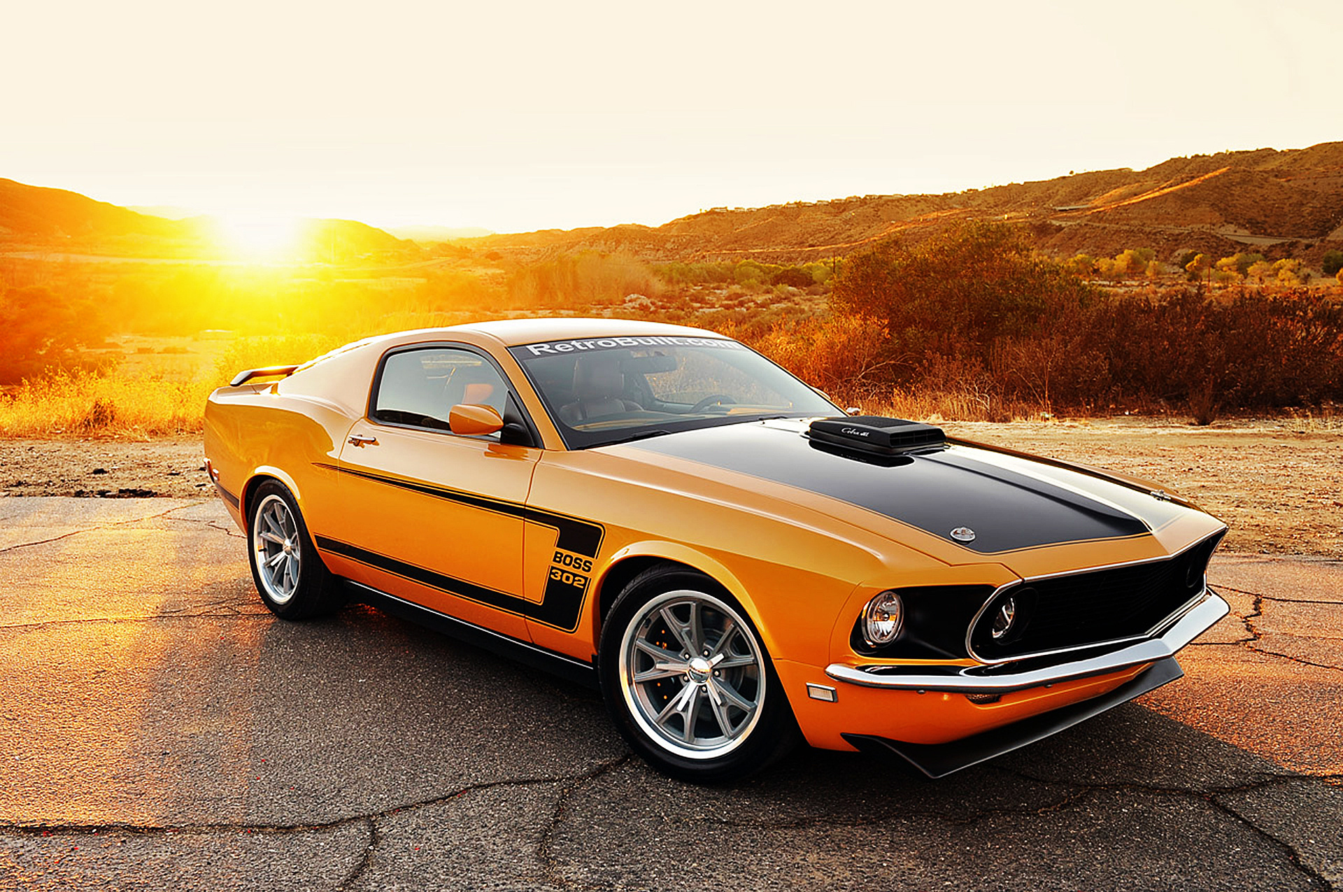 Wallpaper Cars Photo Picture Auto Ford Mustang