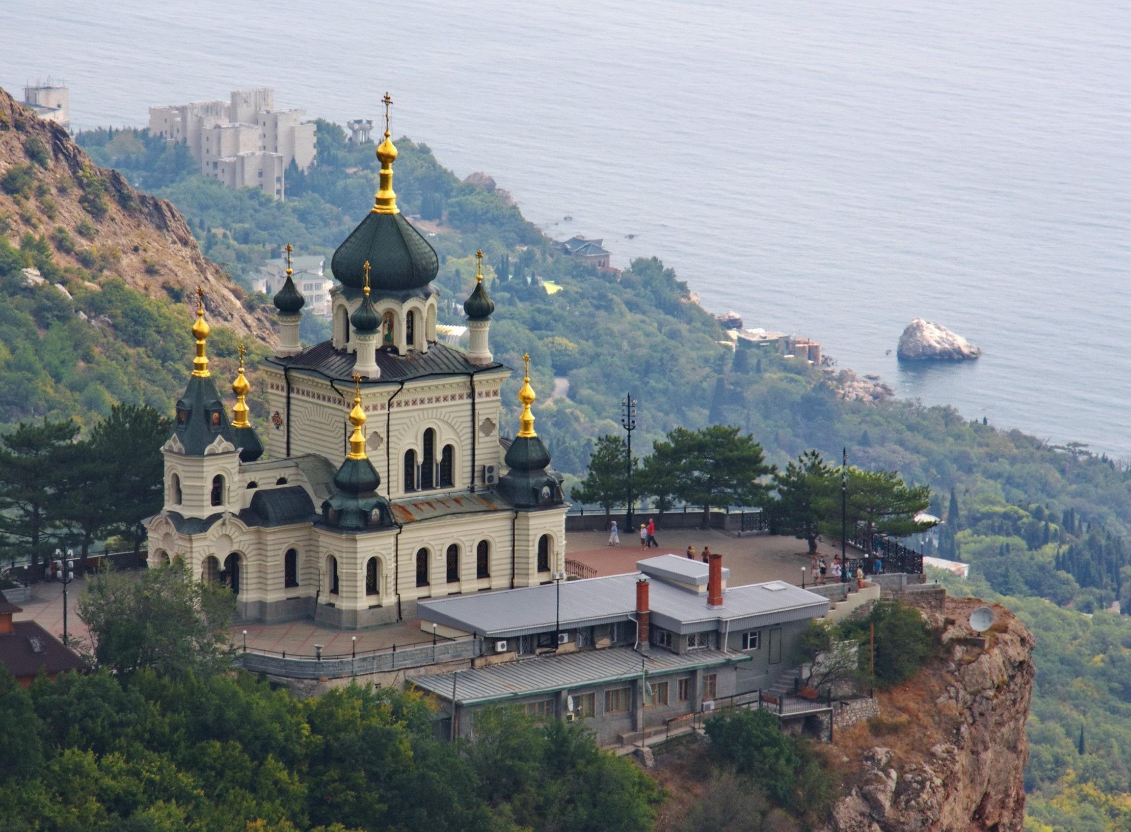 Обои Форосская церковь, Крым. Города foto 12