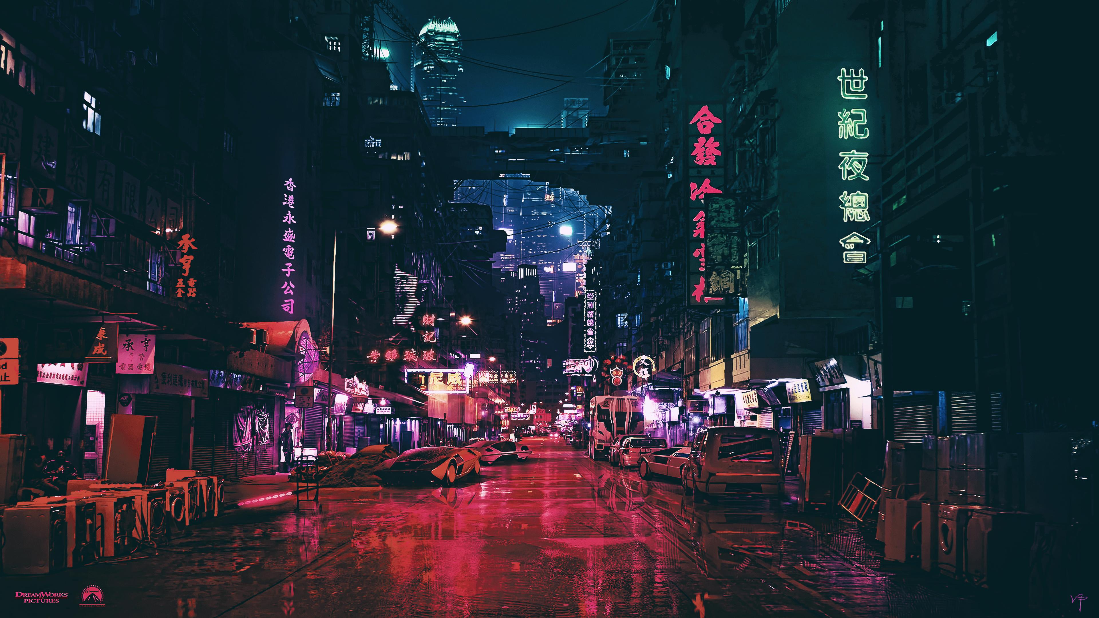 Certainly. anime futuristic city