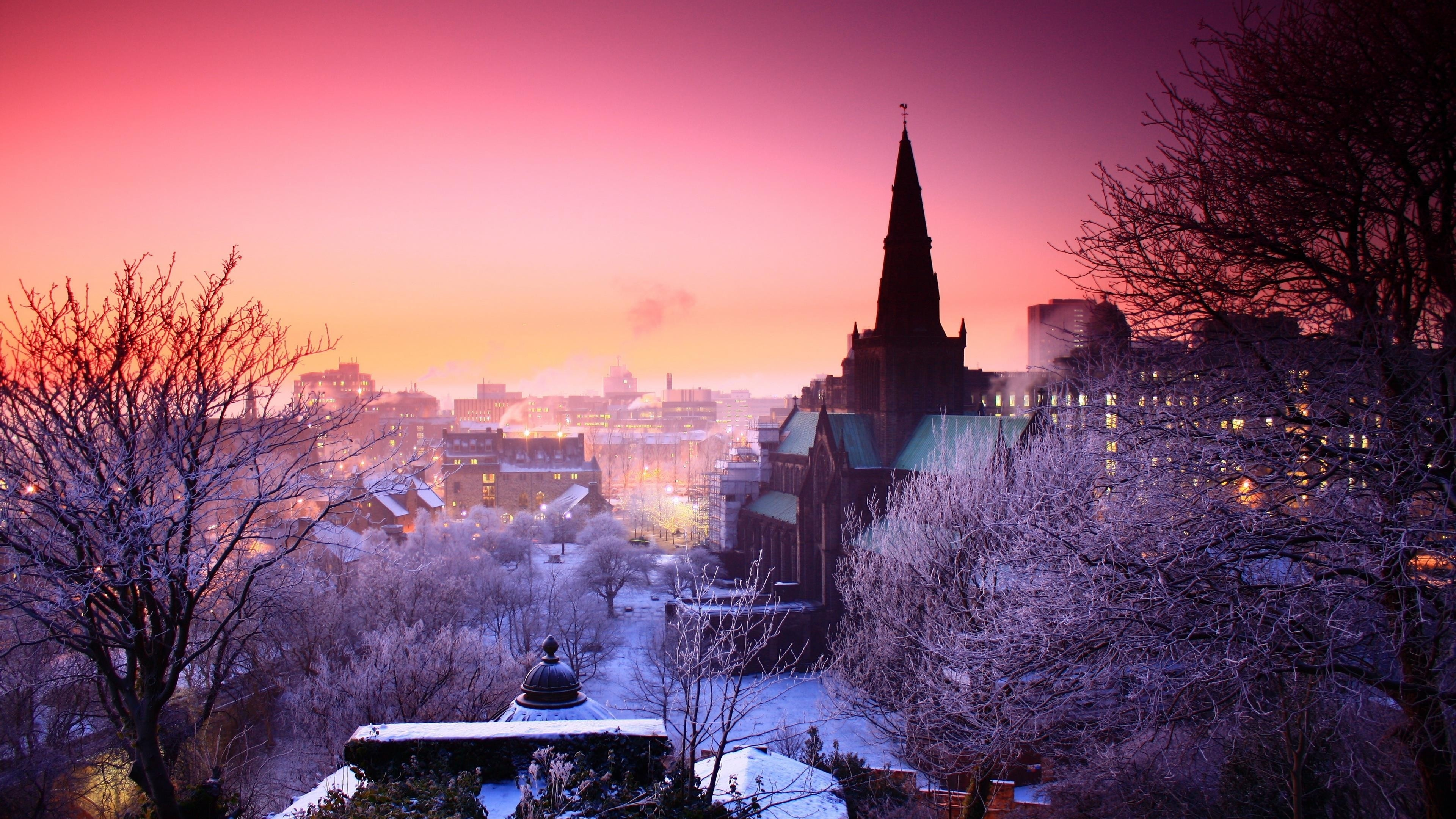 Wallpaper Cities Photo Picture The City Home Winter The