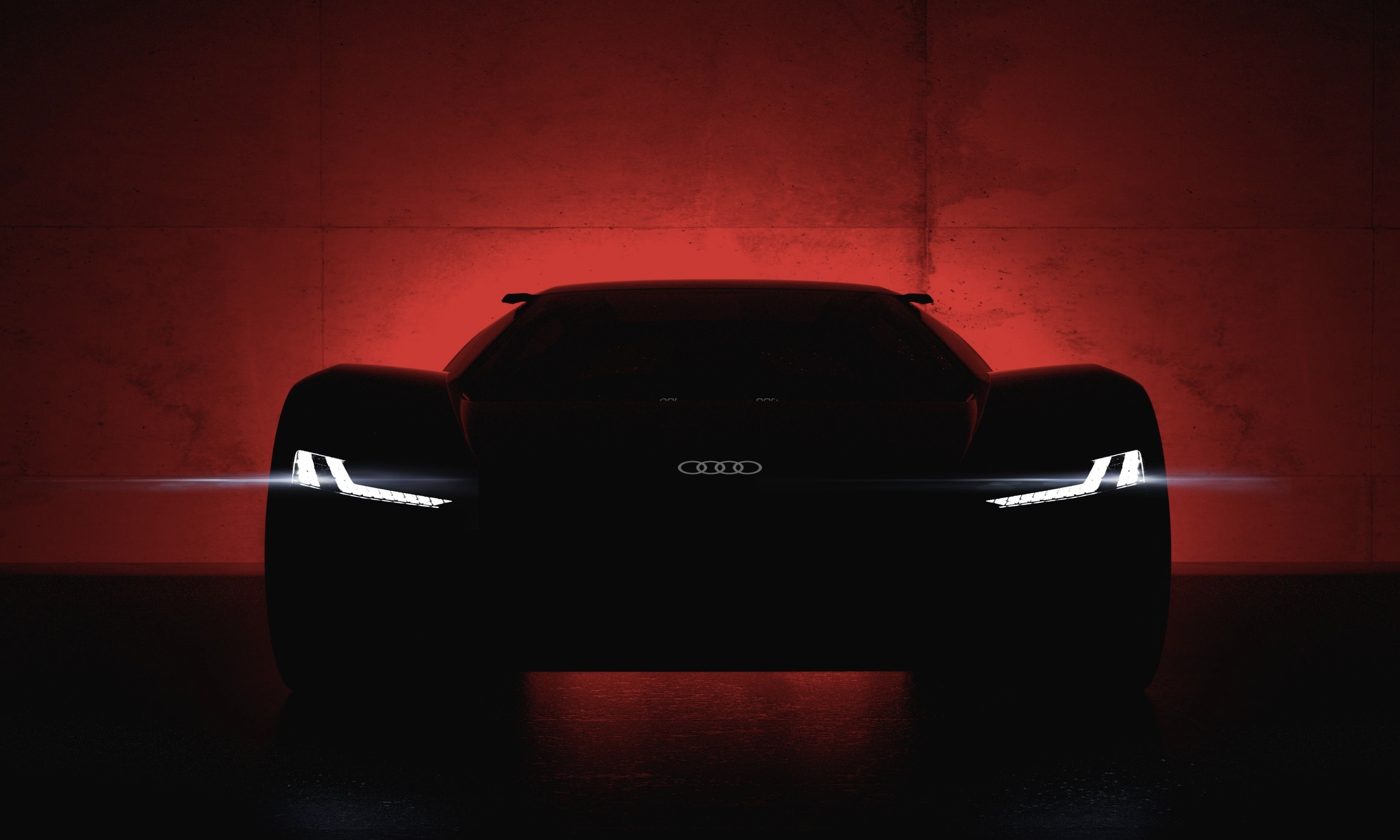 Wallpaper Cars Photo Picture Audi Car Lights The