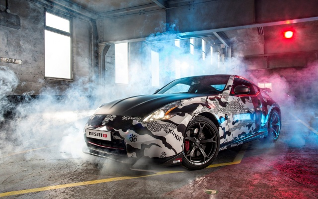 nissan, 370z, nismo, smoke, the room, drives, tuning, Nissan