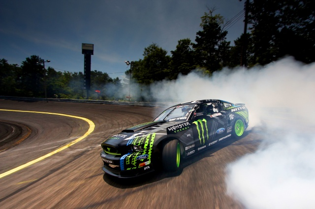 Ford, Mustang, Ford, Mustang, drift, track