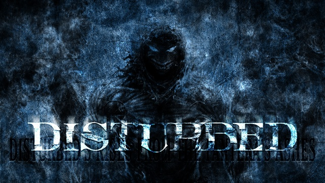 rock, Disturbed, music