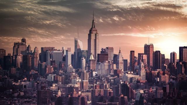 Нью-Йорк, США, здание, город, bigapple