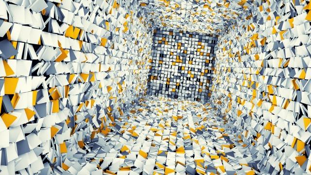 фотокуб, фэнтези, бело желтый фон, ЗД