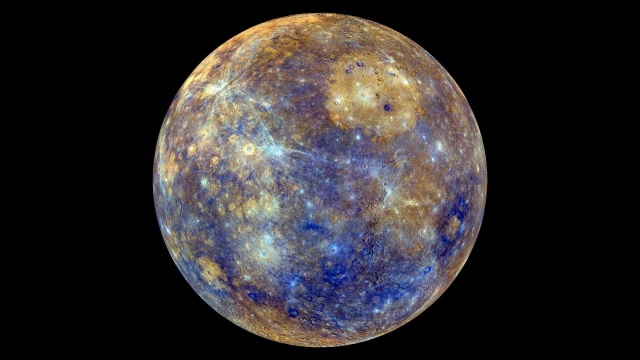 planet, Mercury, the dark background, space