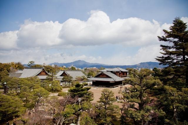 Японія, Кіото, дерева, вдома, небо, краса