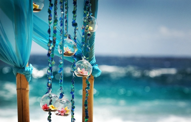океан, пейзаж, макро, фото, украшения, цветы