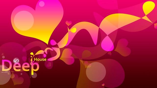 Тони Кохан, Музыка, Пластик, Диджей, розовый, желтый, Сердце, 4K, Обои