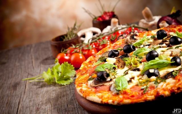 еда, вкусно, пицца