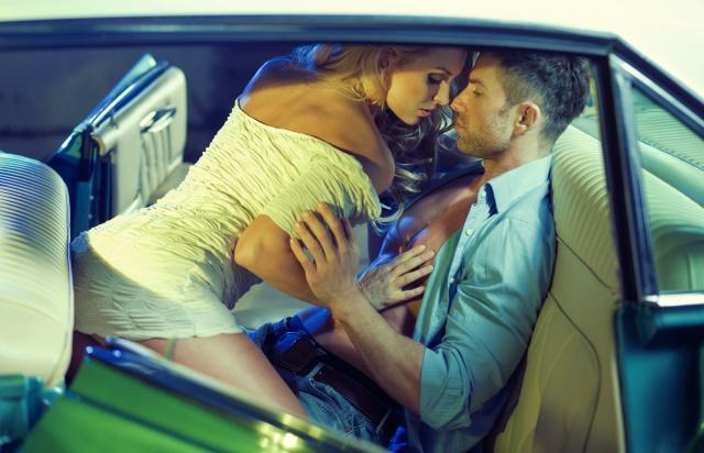 чоловік, жінка, закохані, Любов, машина