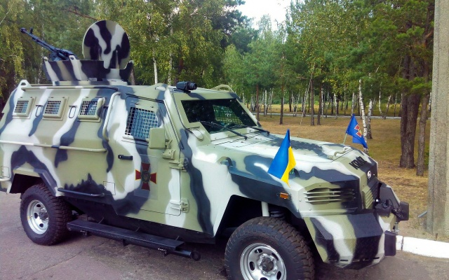 armored car, Cougar, armor, Ukraine