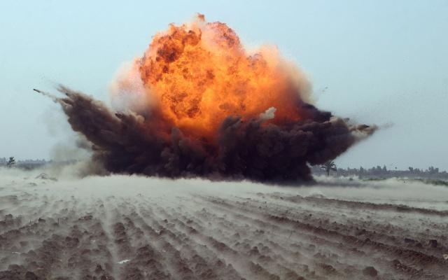 explosion, shock, wave