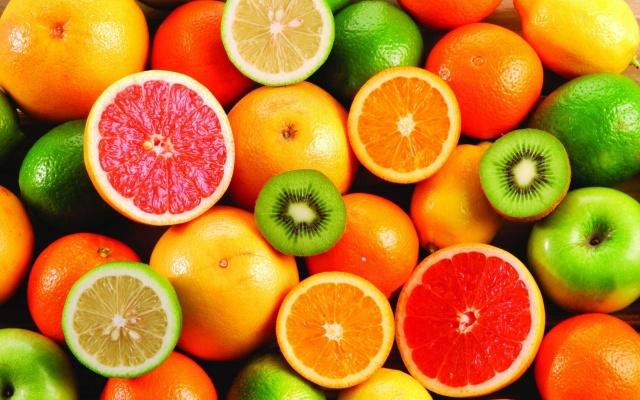 фон, текстура, вкусно, полезно, фрукты