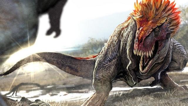 динозавры, животные