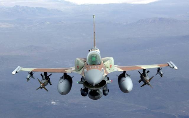 самолет, Истребитель, Значения F16, фото, полёт