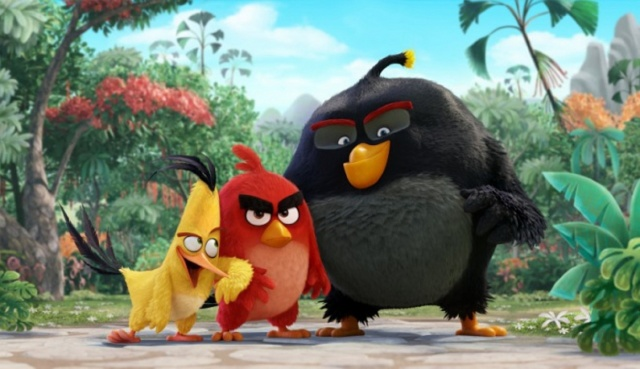 ЗЛЫЕ ПТИЦЫ, боевые птички, фильм