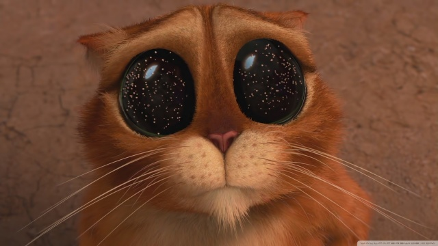 кот в сапогах и три чертенка, мультфильм, анимация, глаза, рыжий, Кот в сапогах: три чертенка