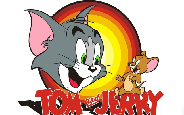 Tom and Jerry, cartoon, animation, cat, mouse, tom and jerry