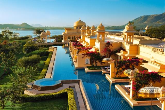 sea, shore, The hotel, the area, view, landscape, India