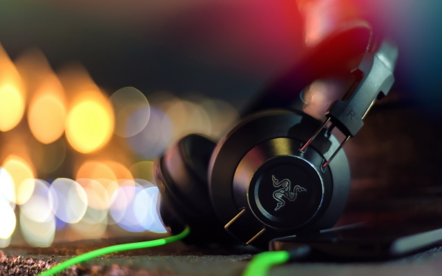 razer, Adaro, stereo headphones, macro, headphones, hi-tech