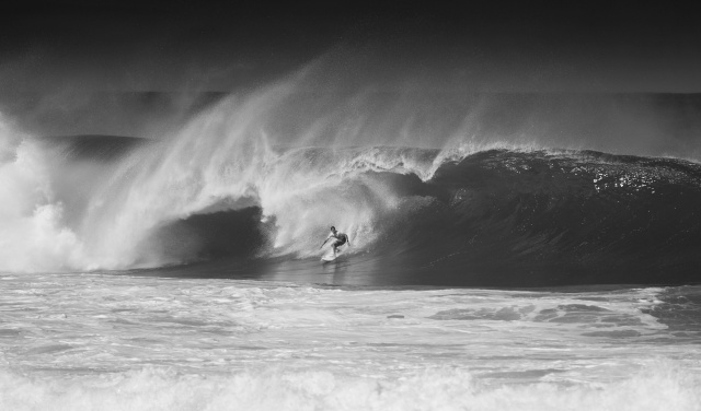 man, sports, surfing, wave, the ocean, black and white, background