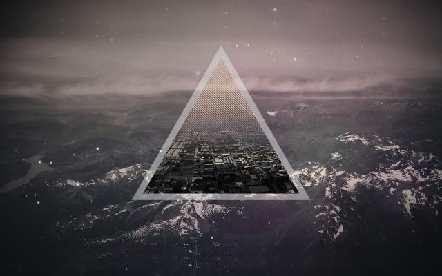 trojúhelník, trojúhelník, město
