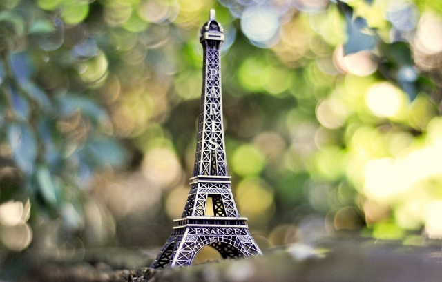 mini, copy, Eiffel tower, Paris, France, macro, photo, background, nature