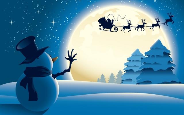 Гарні новорічні картинки, дід мороз, Різдво, ялинки, Іграшки, сніг, мороз, вкусняшки, HD якості