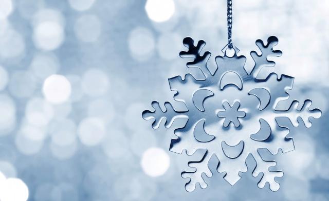 снежинка, макро, фото