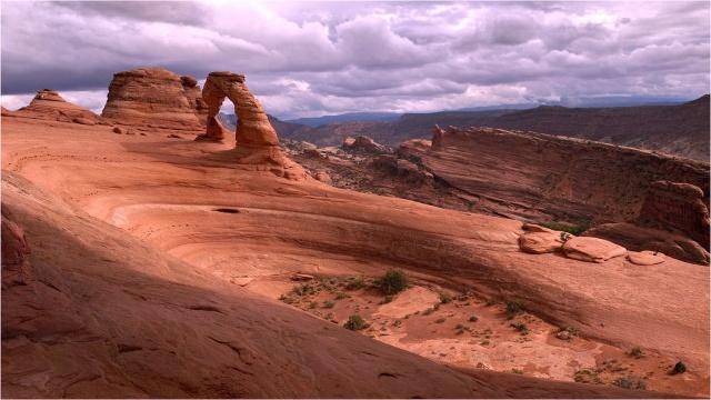 rock, nature, the sky