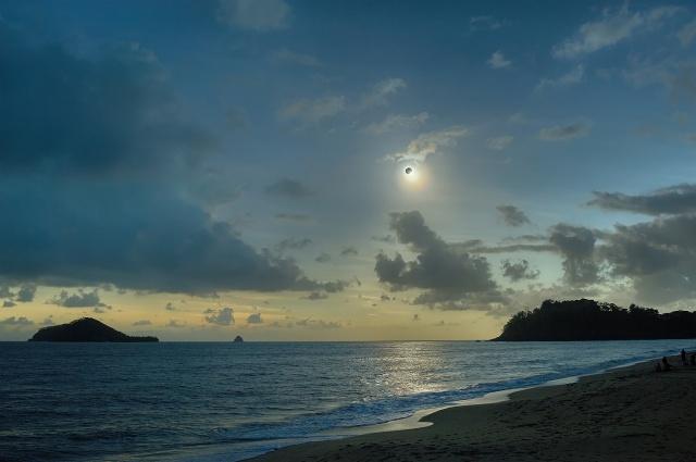 Австралия, Австралия, солнце, луна, квинсленд, Квинсленд