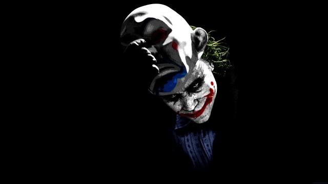 хіт леджер, маска, Джокер, маска, джокер, Темний лицар, Хіт Леджер