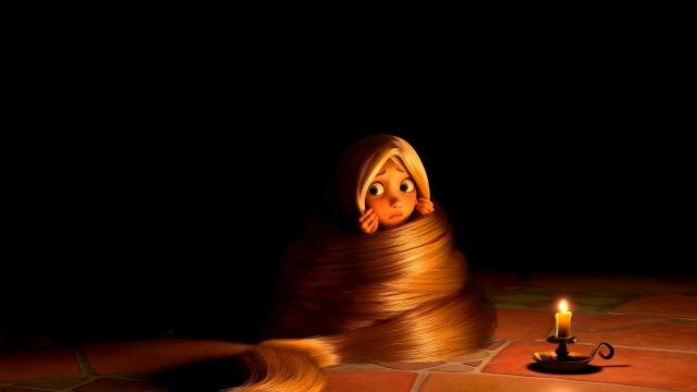 darkness, Rapunzel tangled, Rapunzel