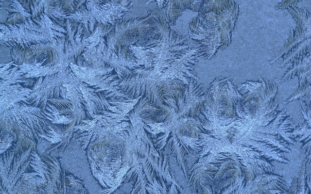 snowflakes, winter, pattern