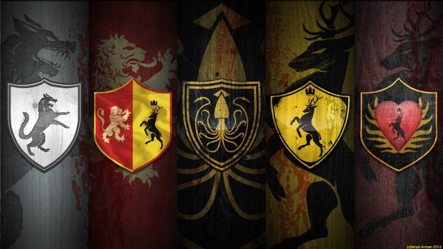 The war of five kings, Game Of Thrones, war of the five kings