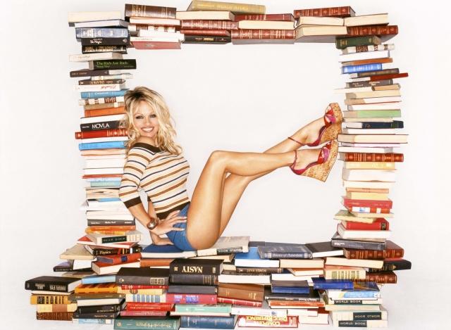 памела, андерсон, актриса, модель, книги