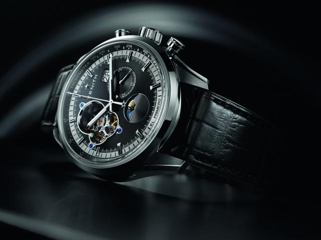 Zenith, stylový, první, chronometr, chronomaster, hodinky