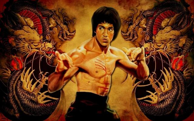 ostrov draka, kung-fu, bruce lee