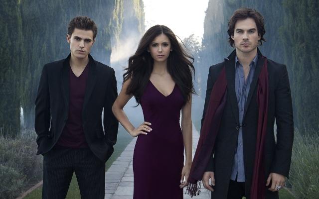 the vampire diaries, the vampire diaries, stefan, damon, elena