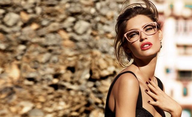 model, glasses, macro, photo, theme