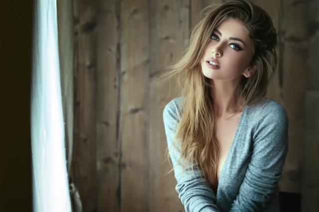 Daniel Ilinca, pros, photo, blond, girl, macro photo