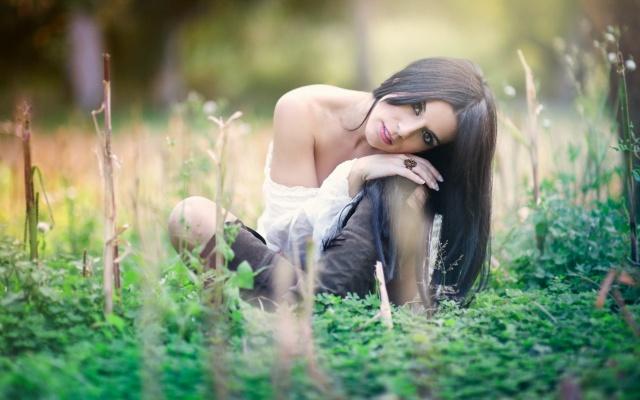 modelo, Cris Comino, background