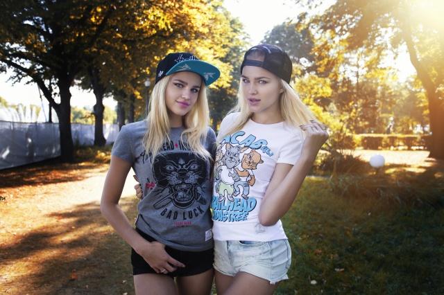 Mikhail Mitjushin, photographer, Alla Emelyanova, Alena Emelyanova, sisters, model, blonde, view, blonde